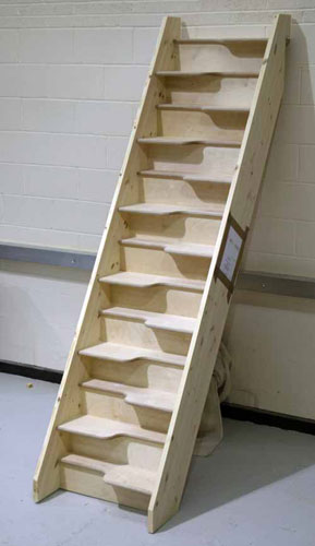space saver staircases from stairplan spacesaver. Black Bedroom Furniture Sets. Home Design Ideas