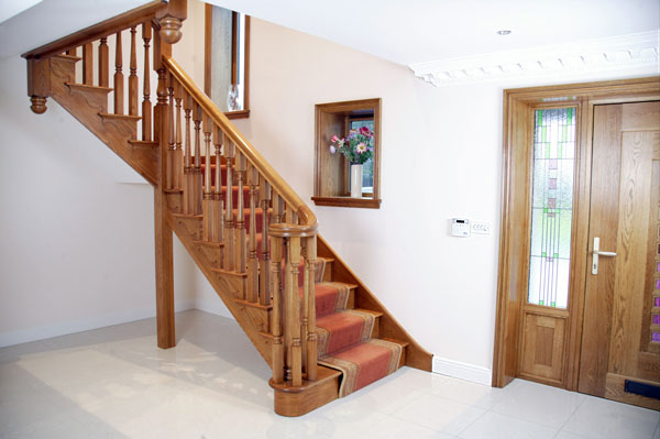 Brooklyn bespoke oak staircase